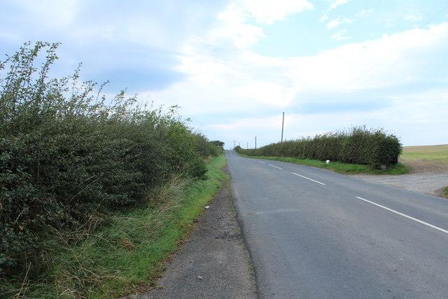 Road to Girvan near Enoch