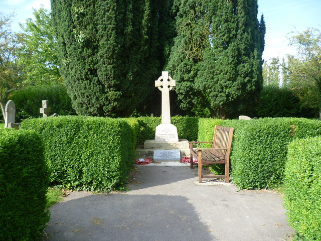 The war memorial at East Sutton
