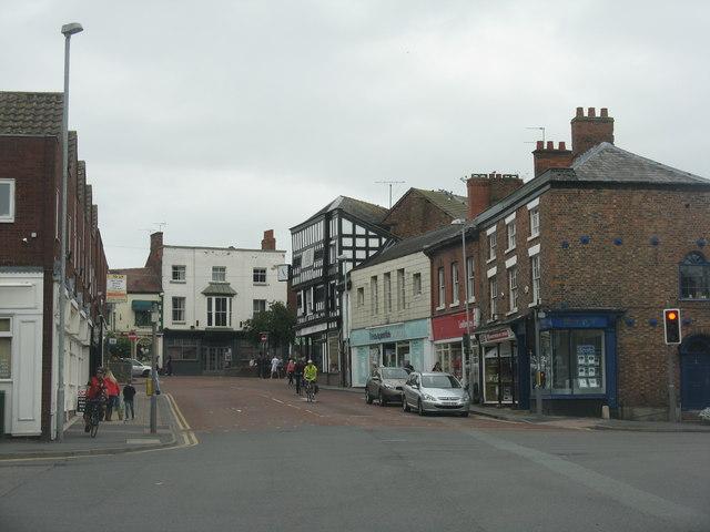 High Street at Nantwich