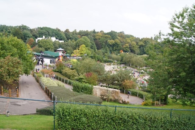 View across Legoland