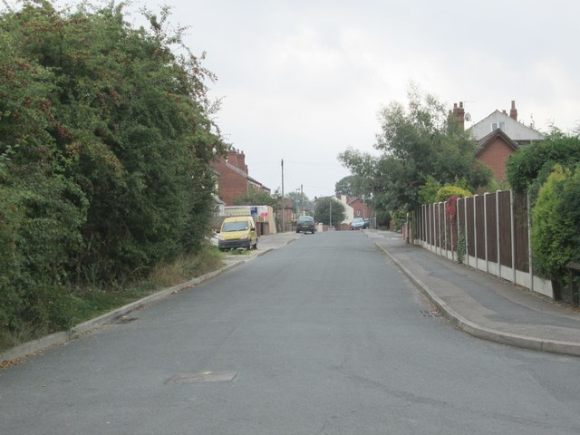 Lingwell Nook Lane - viewed from Ridings Lane
