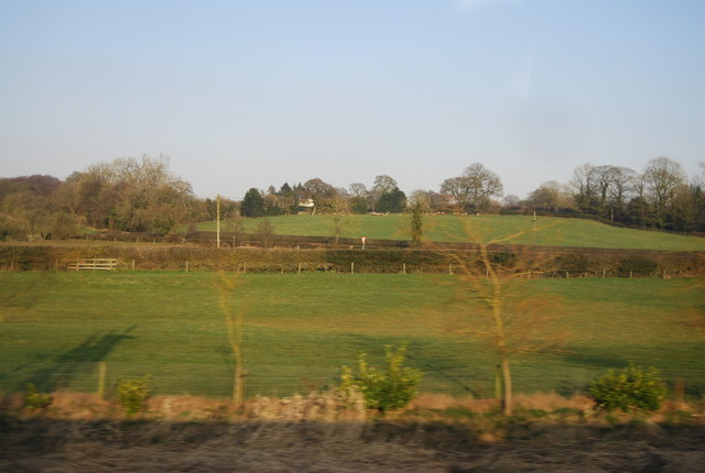 Countryside near Millmeece