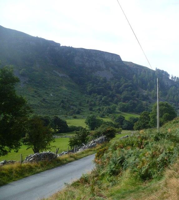 Above Afon Rhaeadr