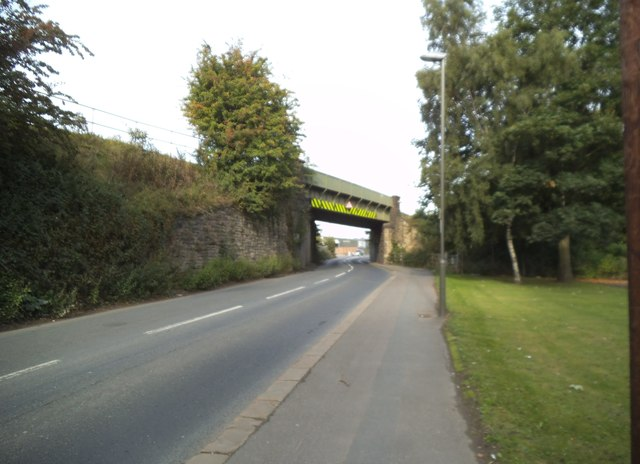 Whittington Rail Bridge View