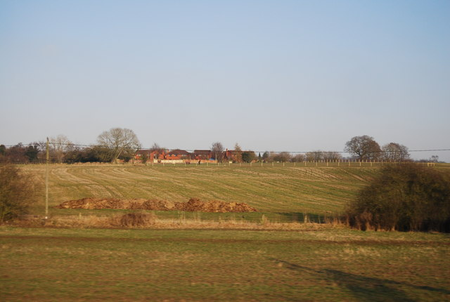 Farmland south of Cotes Heath