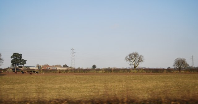 Farmland, Cotes Hall Farm