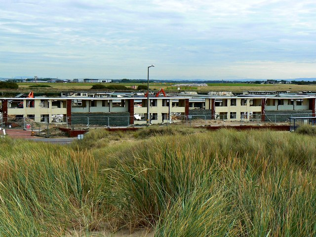 What's left of Pontin's, near Blackpool International Airport