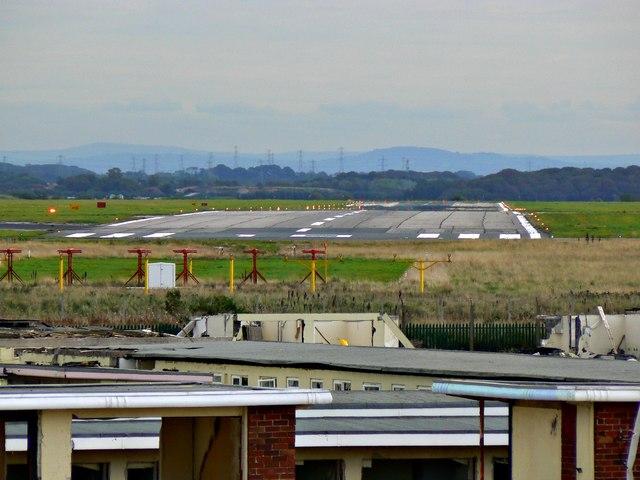 Runway 10, Blackpool International Airport (BLK)