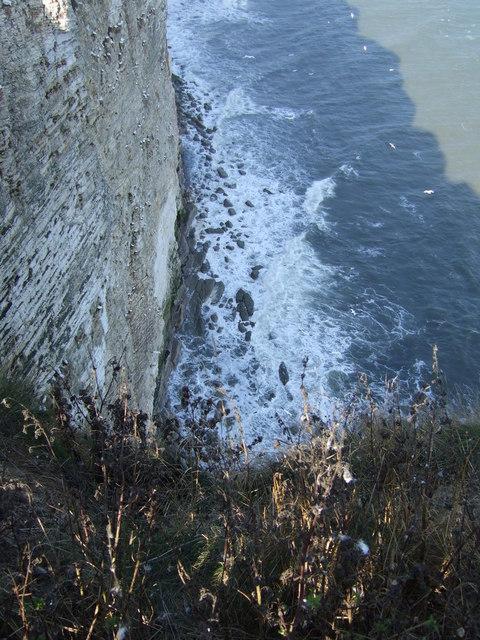 Rocks below Bempton Cliffs