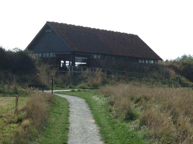 Visitor centre, RSPB Bempton Cliffs