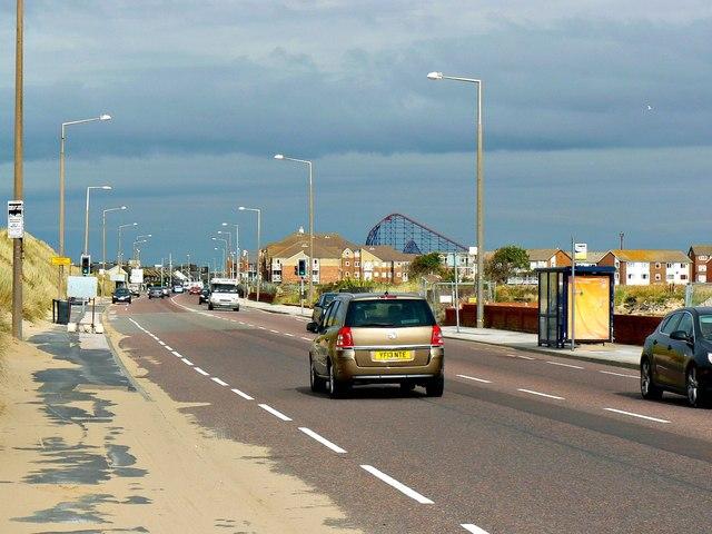 A584, near Blackpool International Airport
