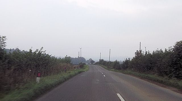 Cables crossing B4386 near Siteley