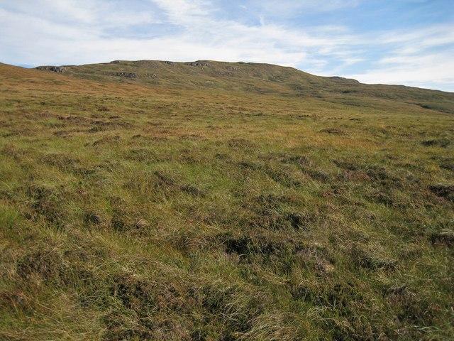 Moorland towards Beinn Chreagach
