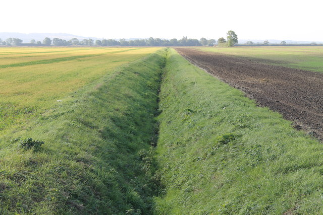Drain at Navenby Low fields