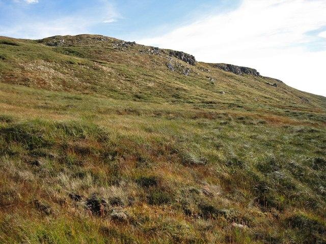 Crags on Beinn Chreagach