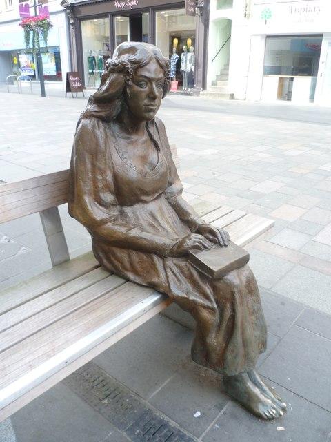 Fair Maid of Perth sculpture, High Street