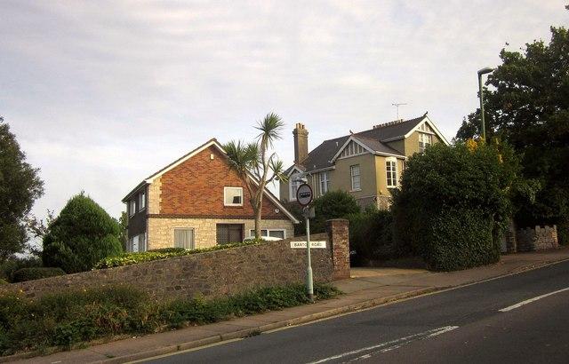 Houses on Barton Road, Torquay