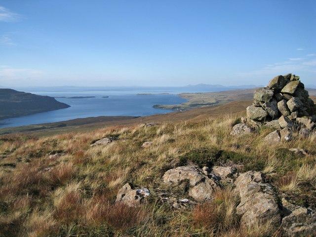 North west from Beinn Chreagach