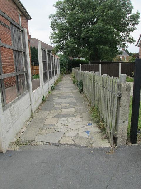 Footpath - Ledger Place