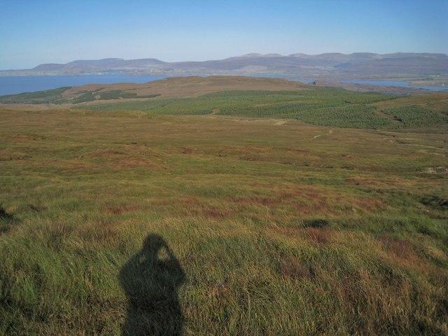 East from Beinn Chreagach