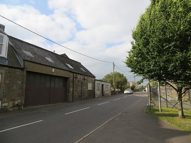 Stirling Road, Milnathort