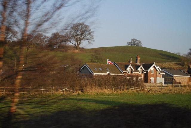 House near Rowe Farm