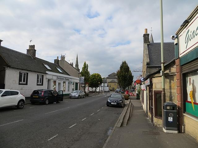 New Road, Milnathort