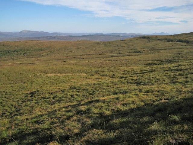 Miles of moorland