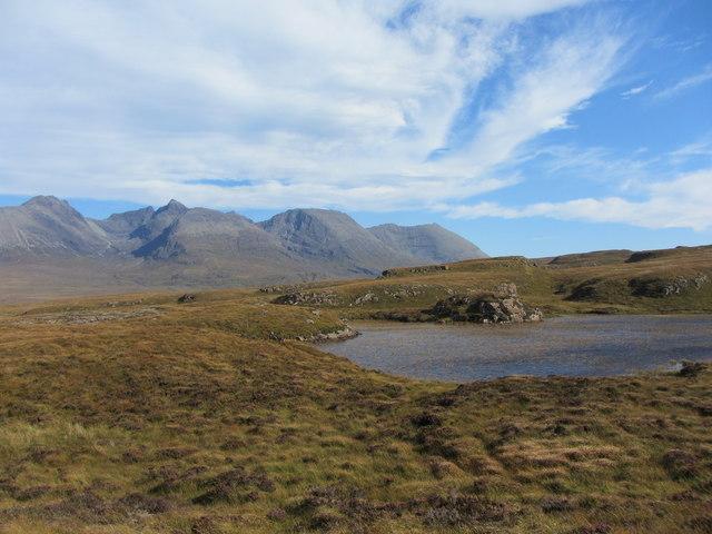 Across the moorland