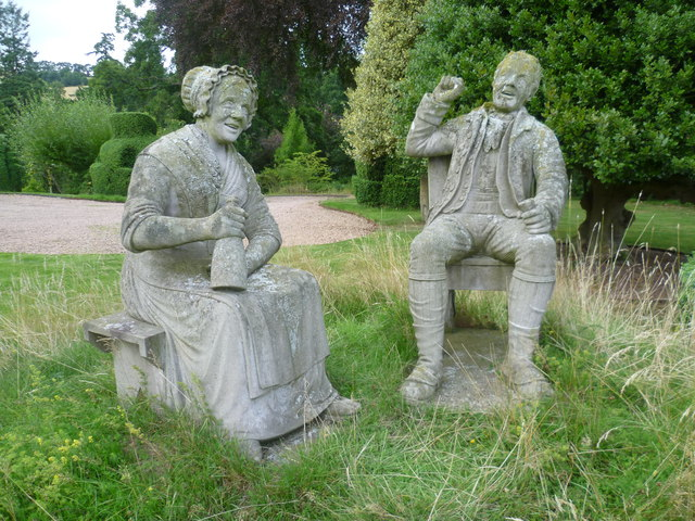 Tam O'Shanter and his wife Kate