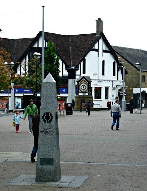 West Highland Way obelisk