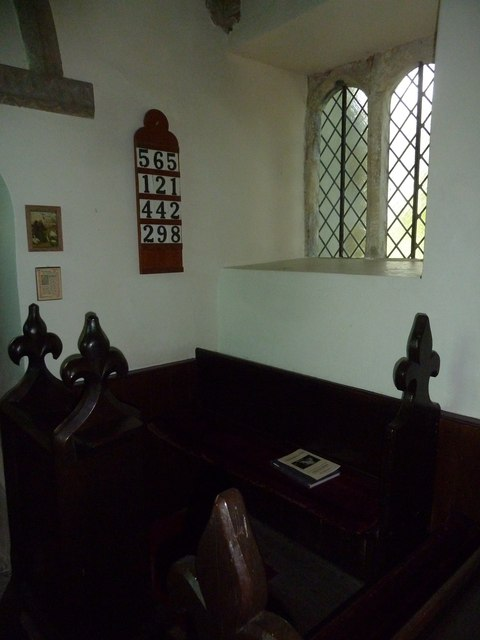 Inside Frome Vauchurch Parish Church (iii)