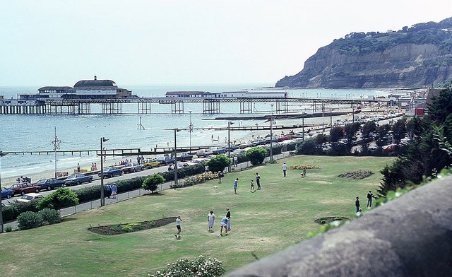 View from Hope Hill in 1986