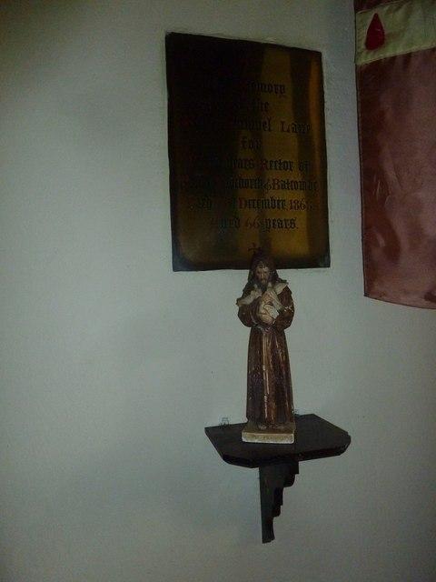Inside Frome Vauchurch Parish Church (vii)