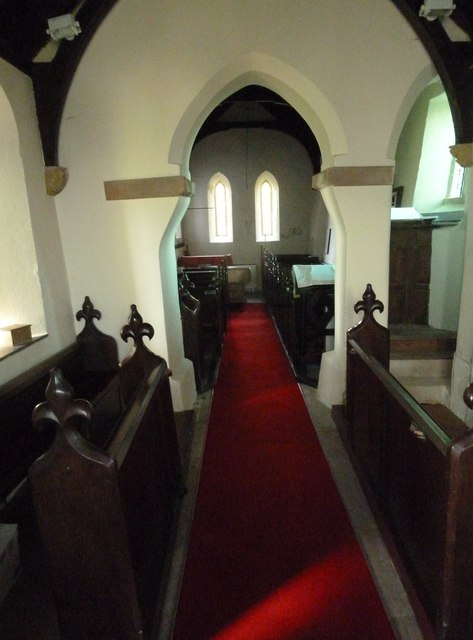 Inside Frome Vauchurch Parish Church (ix)