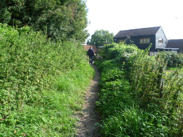 Footpath near College Farm