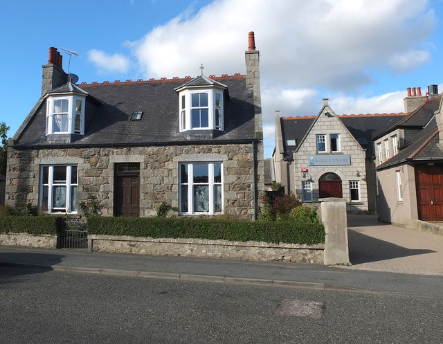 Granite cottage, Station Road, Ellon