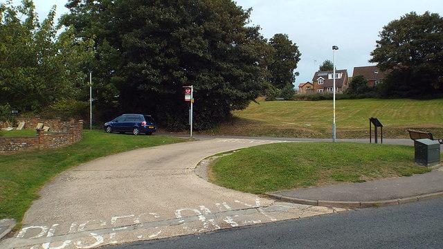 Bus terminus, Harefield West