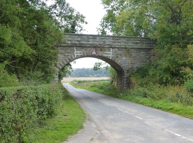 Bridge on the old Alnwick to Cornhill Railway