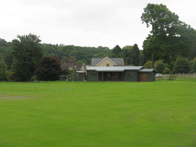 Cricket field and Pavilion