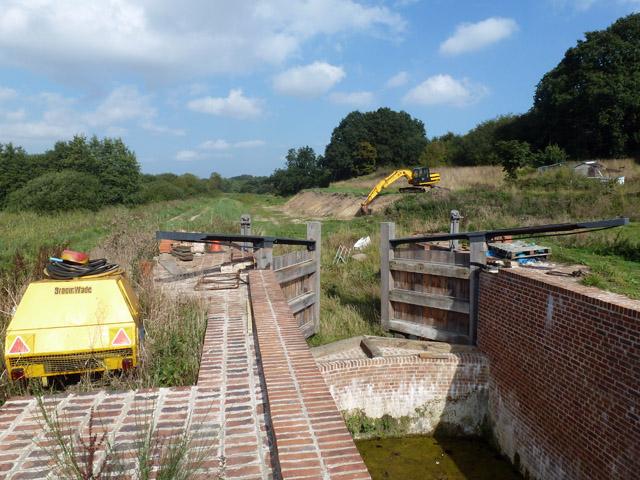 Rebuilt Bacton Wood Lock