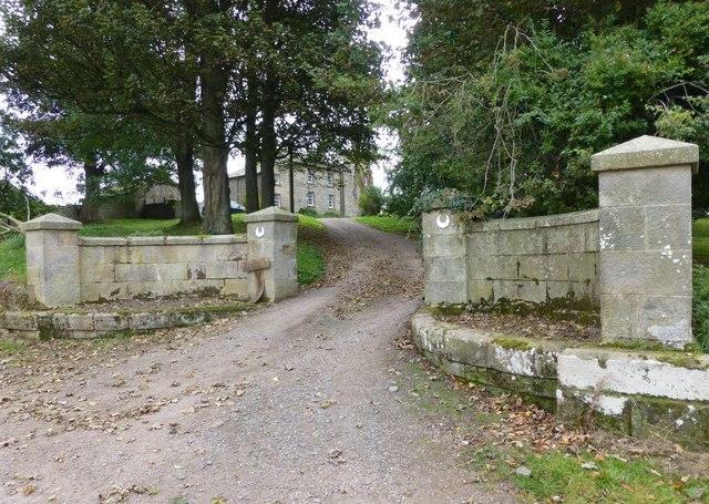 Gateway to South Side Farmhouse