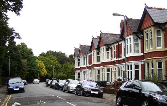 Victoria Park Road East, Cardiff