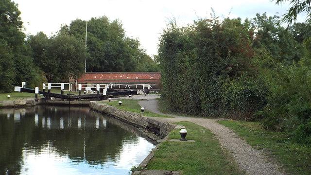Whitewater Lock, near Harefield