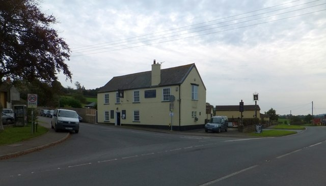 The Golden Hind inn, Musbury