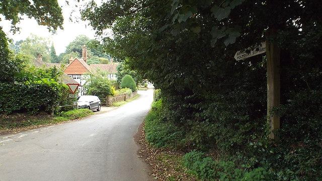 Water Lane, Sutton Abinger