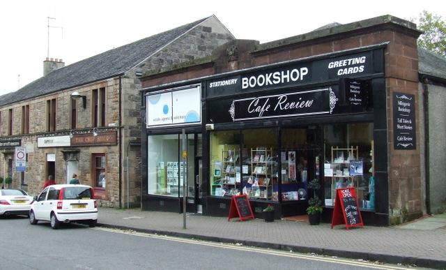 Bookshop on Douglas Street