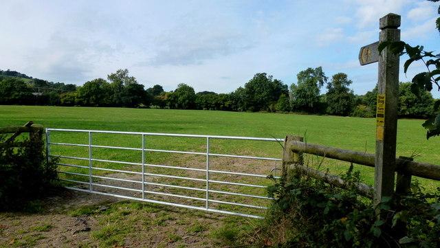 Footpath to Mellington Hall