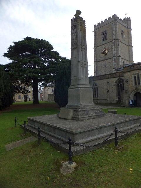 Axminster war memorial