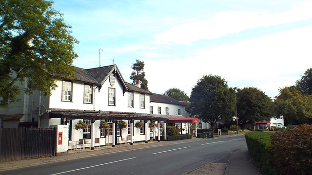 Burford Bridge Hotel, near Dorking